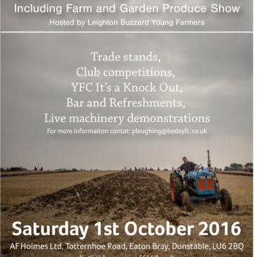 Ploughing Match Show Guide 2016