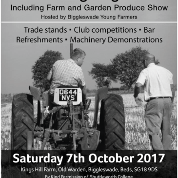 Ploughing Match Classes 2017